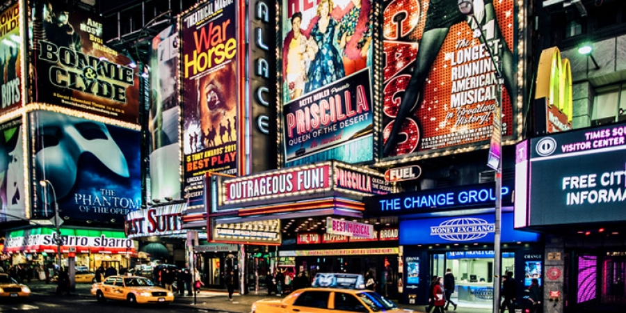 Attractions in New York, Broadway